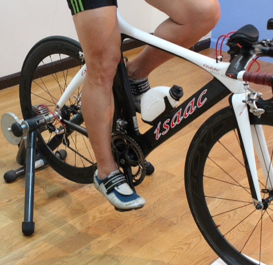 calf flexibility and power output in cycling