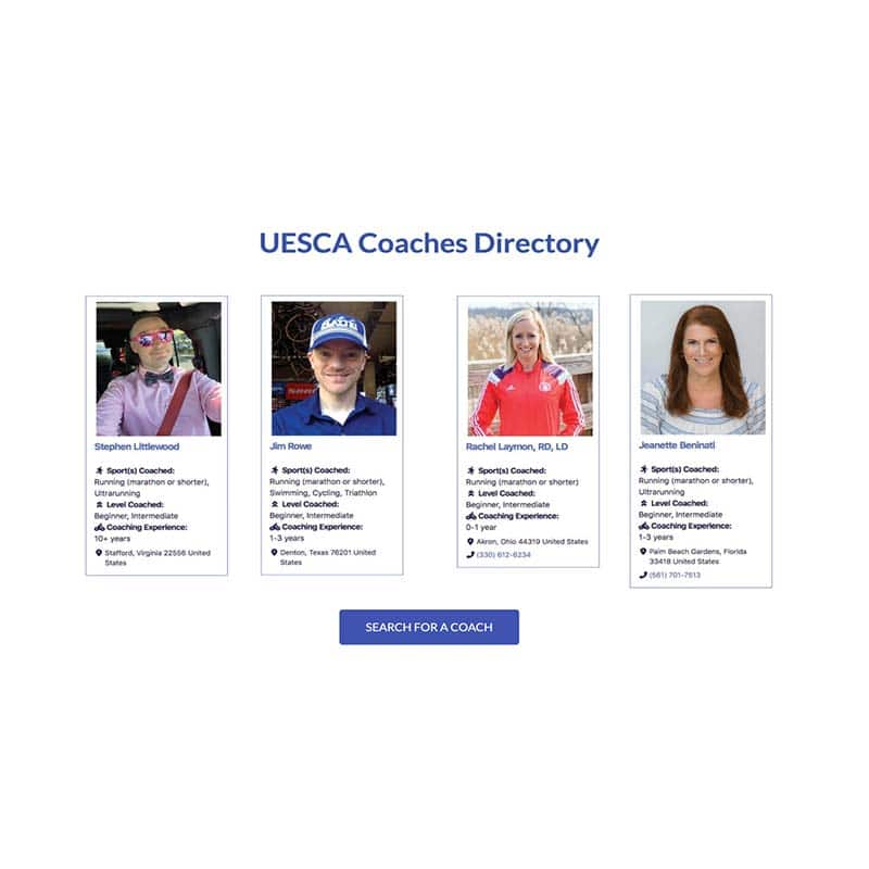 UESCA Ultrarunning Certification